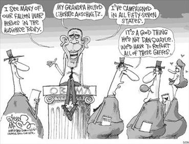 Obama gaffes