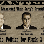 Have You Signed The Plank One Petition? Tell the GOP Leadership to Keep Social Issues on the Agenda