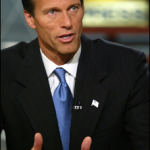 John Thune and Tim Pawlenty Engaged in A Backyard Battle in Iowa?