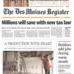 AP and The Des Moines Register Spin Extension of Bush Tax Cuts