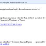 Regarding Giffords Gunman: Being Crazy Is Not An Ideology