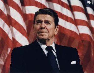 President Ronald Reagan at CPAC