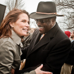 Herman Cain, Michele Bachmann, and Ron Paul Court Iowa Homeschoolers
