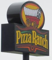 Pizza Ranch Sign