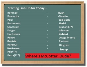 Where's Thaddeus McCotter on Your List, Dude?
