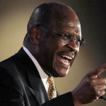Herman Cain Explodes at Audience Member (Updated, old news)