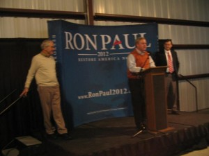 Ron Paul Being Introduced at a Florence, SC Rally