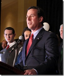 Rick Santorum Trifecta Victory Night