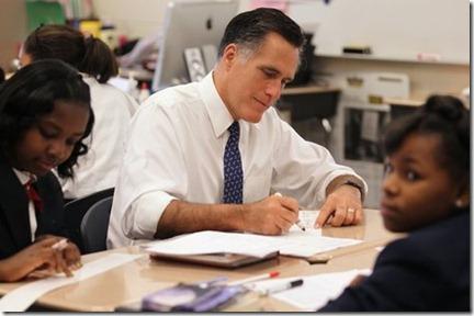 Romney-Charter School