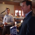 Rick Santorum Stumps for Ben Lange in Iowa 1st Congressional District Race