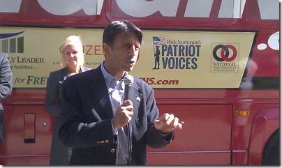 Bobby Jindal on No Wiggins Bus Tour