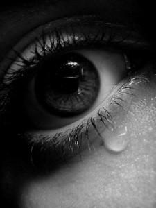 Eye of One Female, Crying