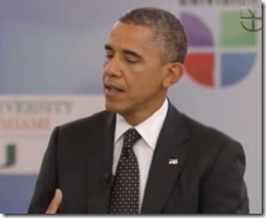 Obama at Univision