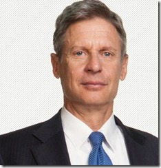 Gary Johnson - Libertarian Party Candidate for President