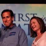 Rick and Karen Santorum Rick Santorum placed 4th in Straw Poll, Iowa Caucus Winner