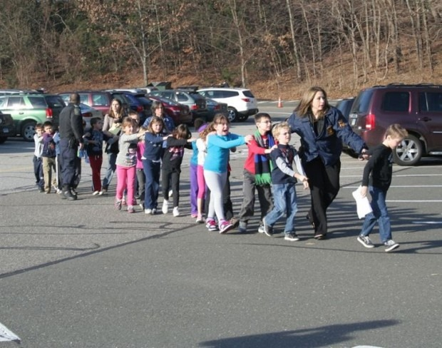 Sandy Hook Elementary School in Newtown, Conn. (Photo credit: Newtown