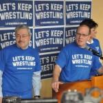 Terry Branstad, Dan Gable Launch Let's Keep Wrestling