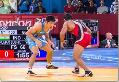 Olympic Freestyle Wrestling 2012 London Olympics