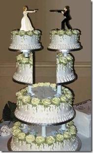 no-fault divorce cake