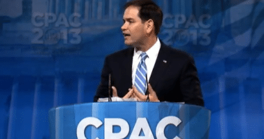 Senator Marco Rubio (R-FL) speaking at CPAC 2013