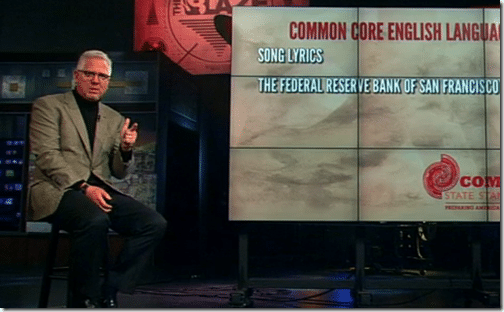 Glenn Beck introducing the Common Core State Standards