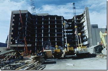 Murrah Federal Building, Oklahoma City, 1995