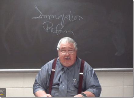 Sam Clovis Immigration Reform