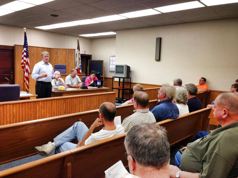Mark Jacobs Speaks to Washington County GOP Central Committee