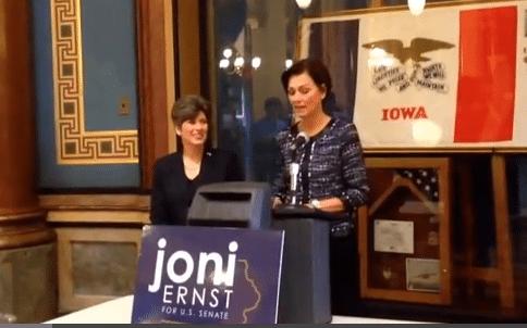 Joni Ernst & Kim Reynolds