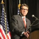 Rick Perry in Iowa: Solutions Are Found in Red States
