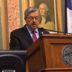 Iowa Gov. Branstad Pushes Helping Vets in Condition of the State