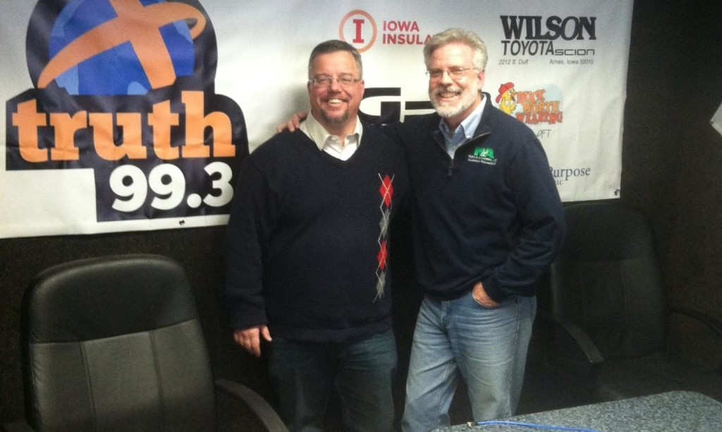 Shane Vander Hart and Brian Myers co-hosts of Caffeinated Thoughts Radio