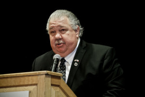 Sam Clovis speaking at NICHE Homeschool Day at the Capitol 2014.