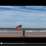One Boy's Amazing Vigil on Omaha Beach