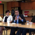Rick Perry Talks Red State Polices, Immigration at Altoona Business Roundtable