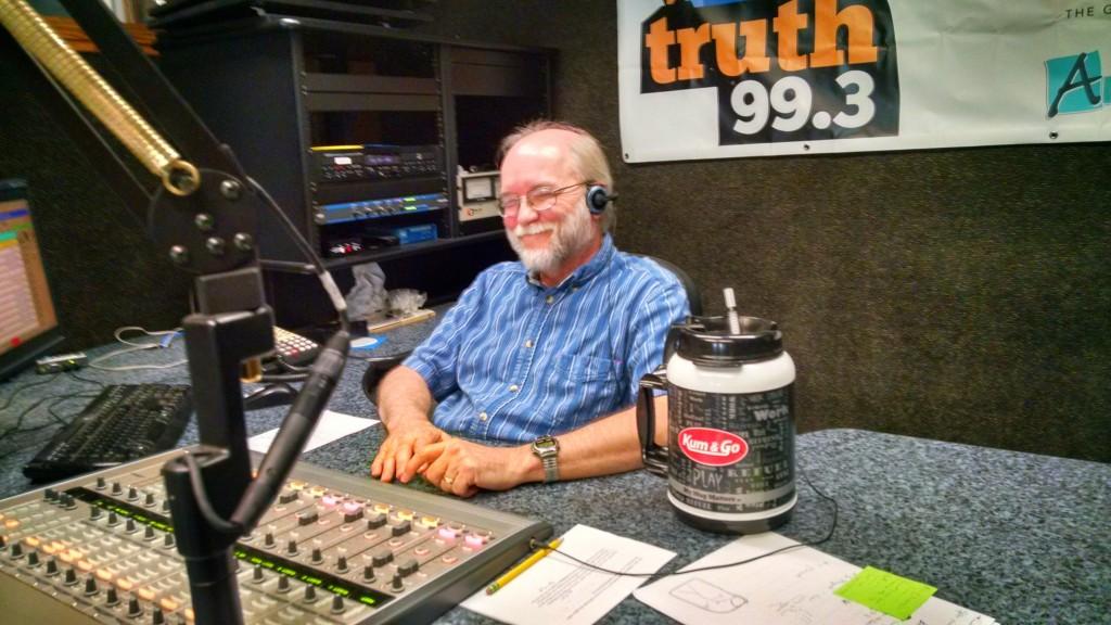 Shane covets Ron's mug.  Imagine that full of coffee.