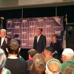 Mitt Romney Stumps for Joni Ernst in West Des Moines