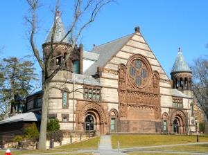 Alexander Hall - Princeton University Photo credit: Small Bones (Public Domain)