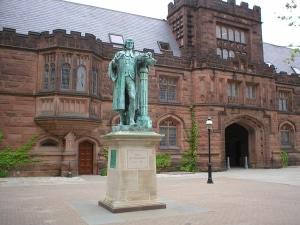 Statue of John Witherspoon at Princeton University Photo credit: Max VT (CC-By-NC-SA 2.0)