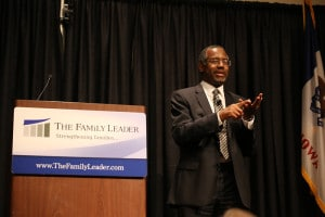 Dr. Ben Carson at The FAMiLY Leader Celebrate the Family Event - 11/22/14. Photo credit: Dave Davidson - Prezography.com