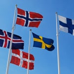 Flags of the Nordic Countries Photo credit: Blue Square Thing (CC-By-NC-SA 2.0)