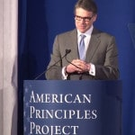 Video: Rick Perry Discusses Economics, Foreign Policy & Conservatism