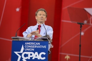 U.S. Senator Rand Paul (R-KY) at CPAC 2015 Photo credit: Dave Davidson - Prezography.com