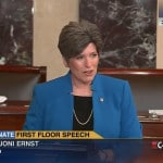 Joni Ernst Gives First Speech on Senate Floor