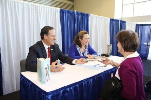 Rick and Karen Santorum at 2015 CPAC Book Signing Photo Credit: Dave Davidson - Prezography.com