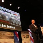 Rick Santorum at the Iowa Freedom Summit Photo credit: Dave Davidson - Prezography.com