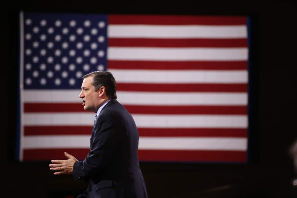 Ted Cruz speaking at CPAC 2015. Photo credit: Dave Davidson (Prezography.com)
