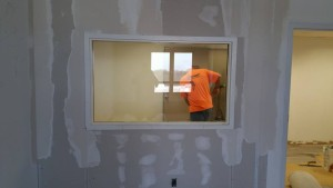 Our new home in Merle Hay Tower in Des Moines is being prepared.Photo credit: Mac McCoy
