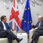 British PM David Cameron (left) with President of the European Union Herman Van Rompuy. Divorce is in the air.hoto credit: President of the European Council via Flickr (Attribution 2.0)