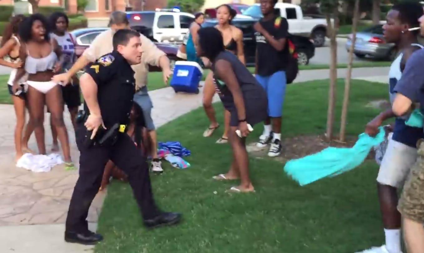 McKinney officer who pulled his gun on unarmed black teens